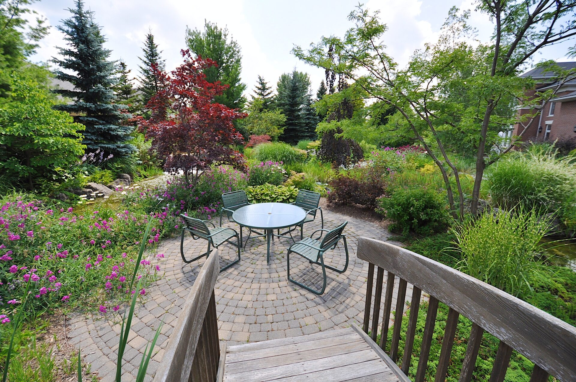 Picture yourself walking out of your condominium to the beautiful Zen Garden.  Located just outside of the Village Centre in The Village By The Arboretum (Guelph, Ontario).